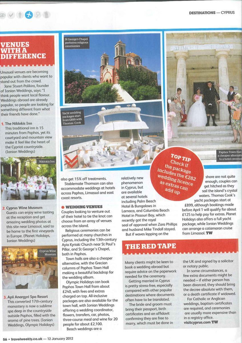 Travel Weekly 12 January P56