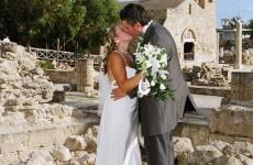 Cyprus Paphos Church Wedding and Harbour Front Reception
