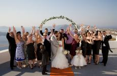 Santorini Winery Wedding and Vineyard Reception all inclusive package