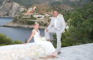 Bernadette & Nathan, Kefalonia Chapel Wedding