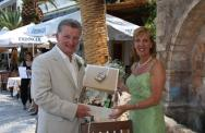 Rhoda & Alec, Lakeside Crete Wedding
