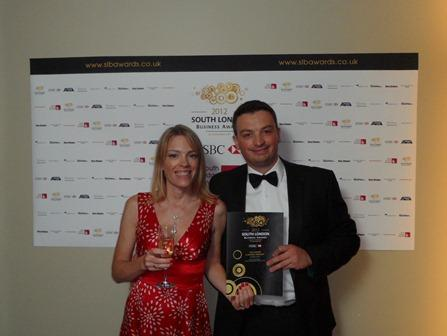 Another high profle business award for Ionian Weddings!