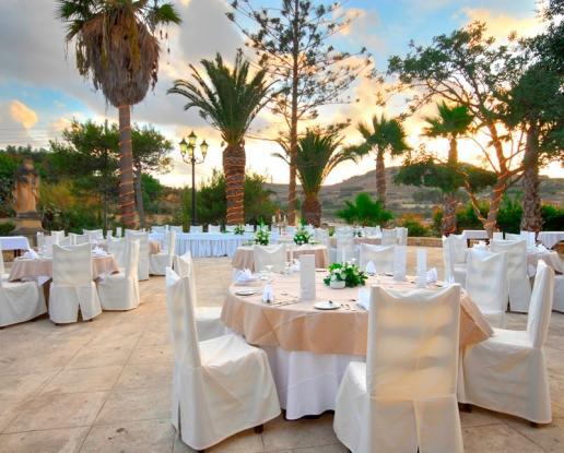 Malta Gozo Gardens Wedding Ionian Weddings