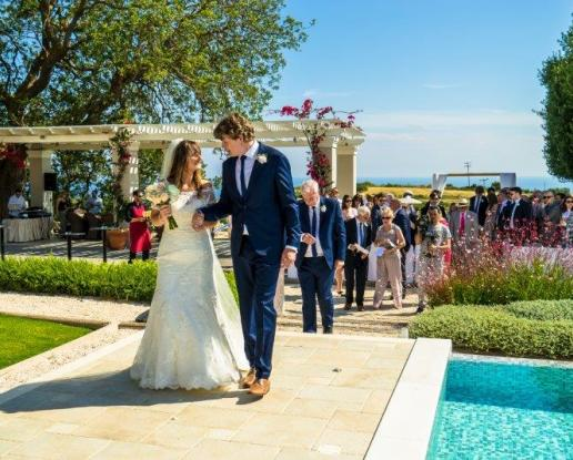 Kefalonian Beach Or Villa Ceremony And Catered Villa