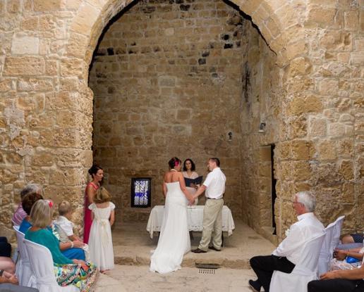 Paphos Castle Wedding And Harbour Reception