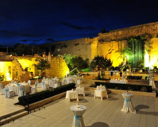 Malta Waterfall Gardens Wedding And Reception Ionian