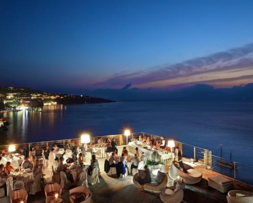 sorrento villa fondi amp sky lounge terrace ionian weddings