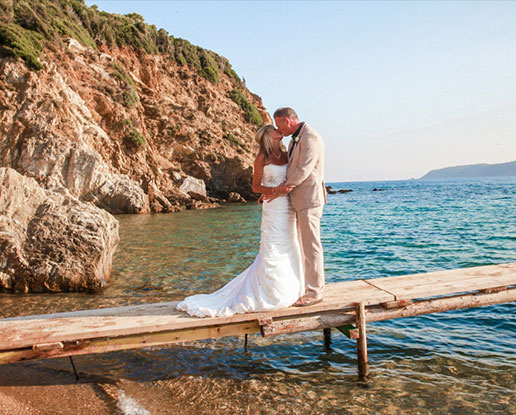 skiathos castaway ceremony amp reception ionian weddings