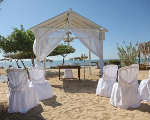 Cyprus Private Beach Wedding And Reception