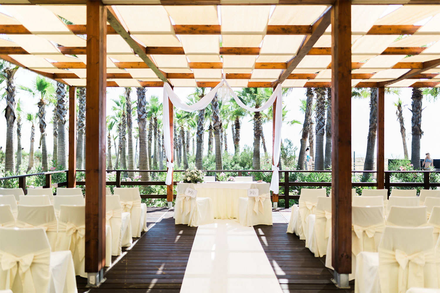 Algarve Palm Tree Gardens Ceremony & Reception | Ionian Weddings